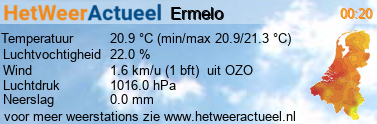 het weer in Ermelo